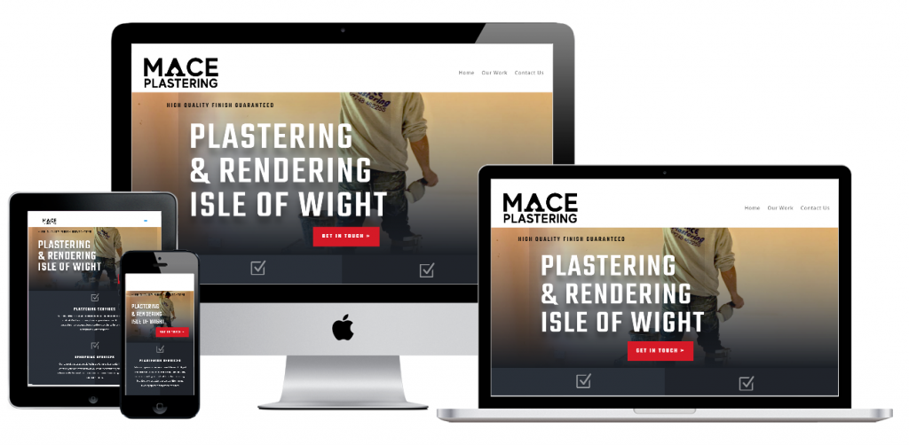 Mace Plastering Isle of Wight New Website