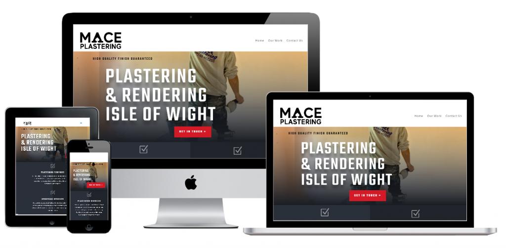 Mace Plastering Isle of Wight New Website